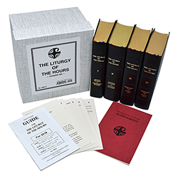 Liturgy of The Hours - Four Volume Leather Edition