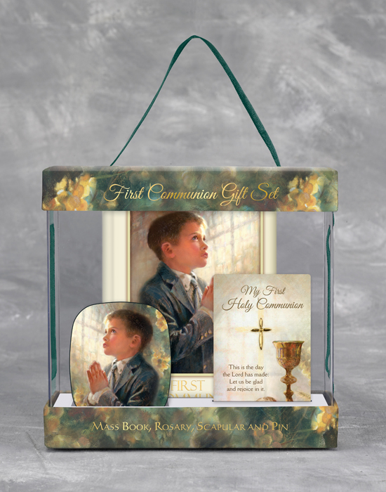 Kathy Fincher First Communion Set for Boys