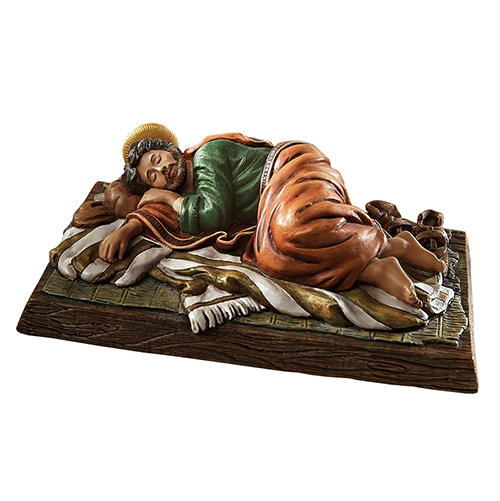 Sleeping Saint Joseph - Catholic Figurine