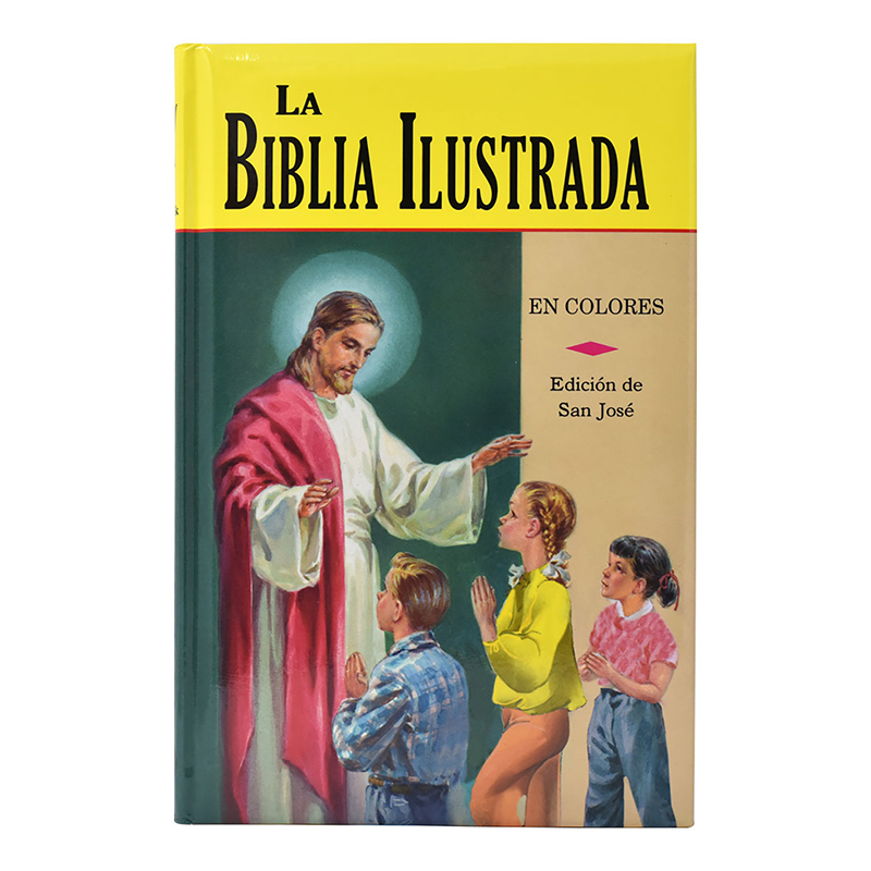 La Biblia Ilustrada - Spanish Illustrated Bible for Children
