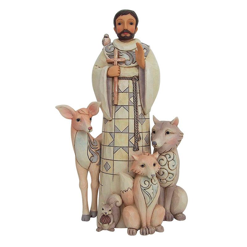 Saint Francis Woodland Figurine - Jim Shore Design