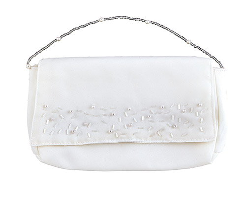 Beaded Clutch Purse - for First Communion