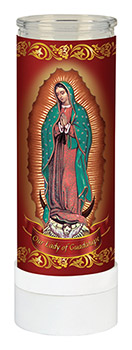 Our Lady of Guadalupe - Electric Candle