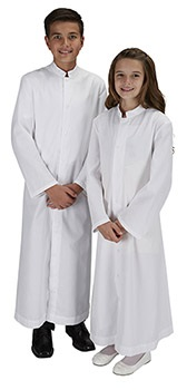 Altar Server Cassock - Available in Red, Black and White