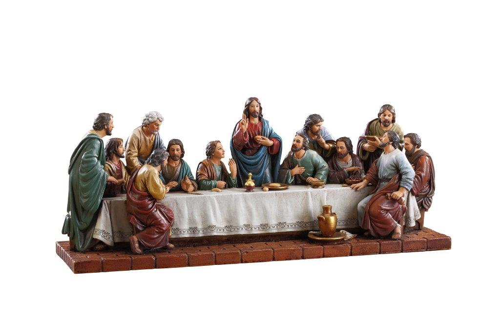 Sculpted Last Supper Figure Catholic Statuary Figurines