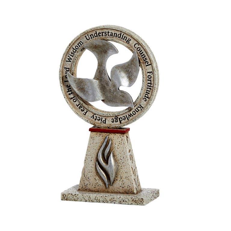 Catholic Confirmation Dove Figurine