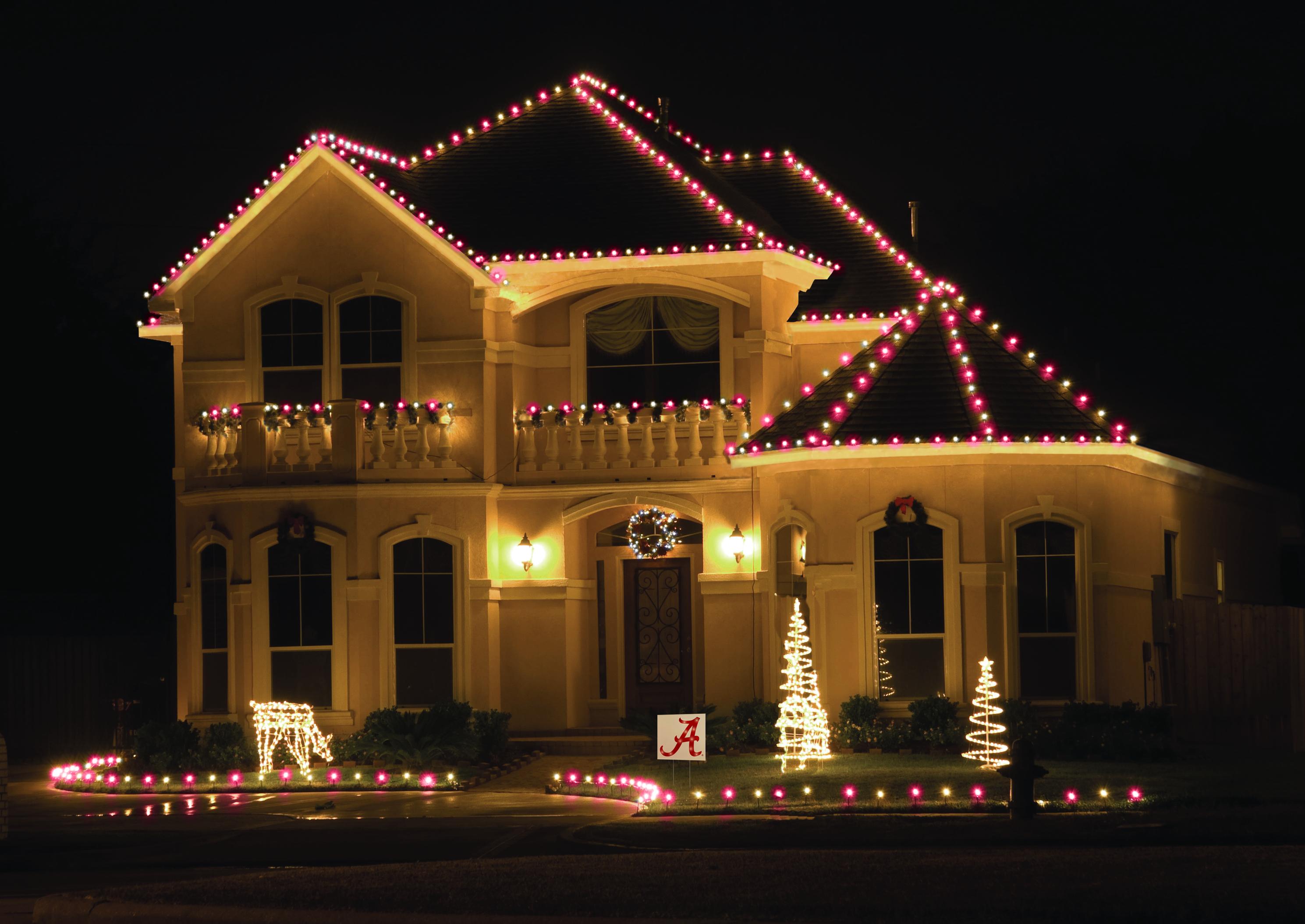 Clemson Tigers Christmas Lights