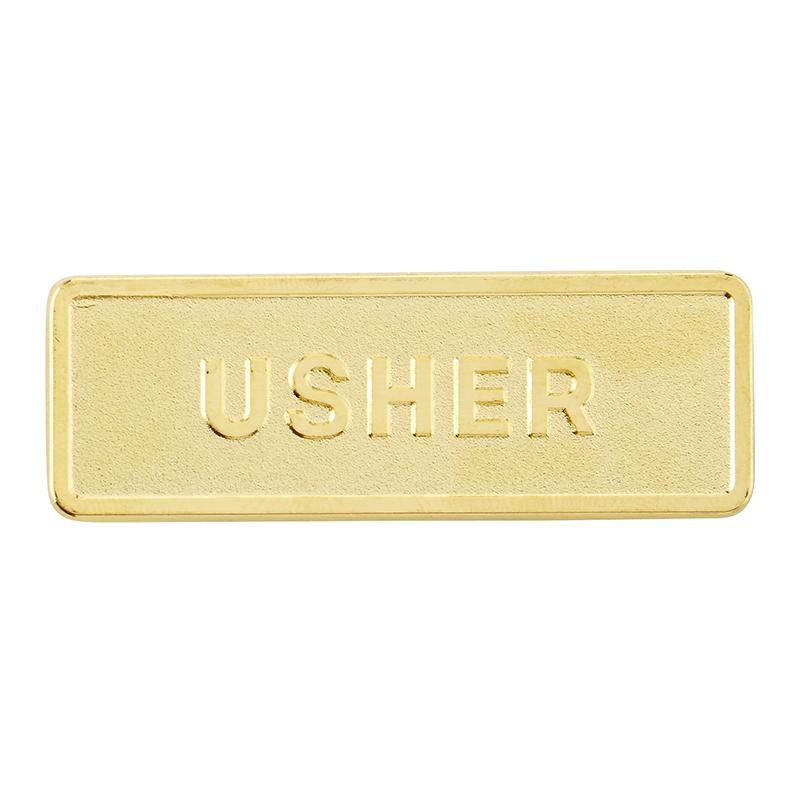 Usher Magnetic Badges -6/pk - Church Supplies