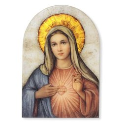 Immaculate Heart of Mary - Marco Sevelli Plaque