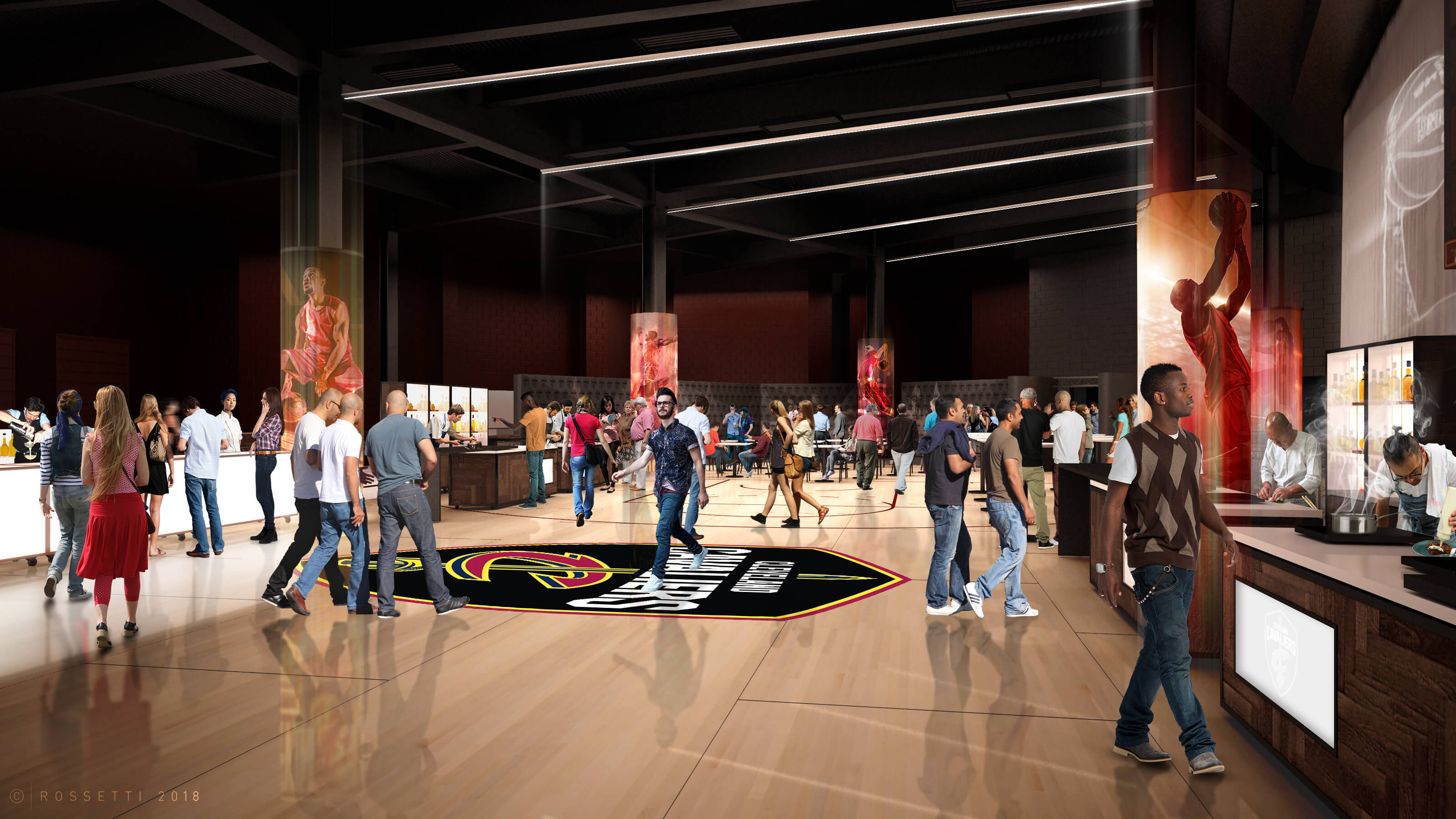 Courtside Club Interior