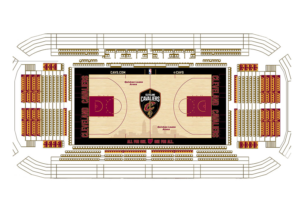 Chairman's Club Seating Map