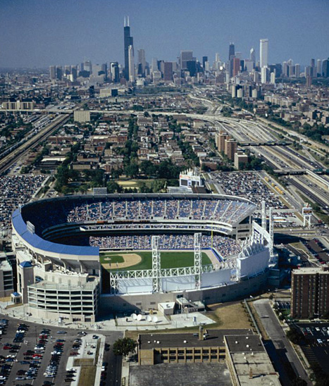 Must-See Aerial Views of Every Major League Ballpark