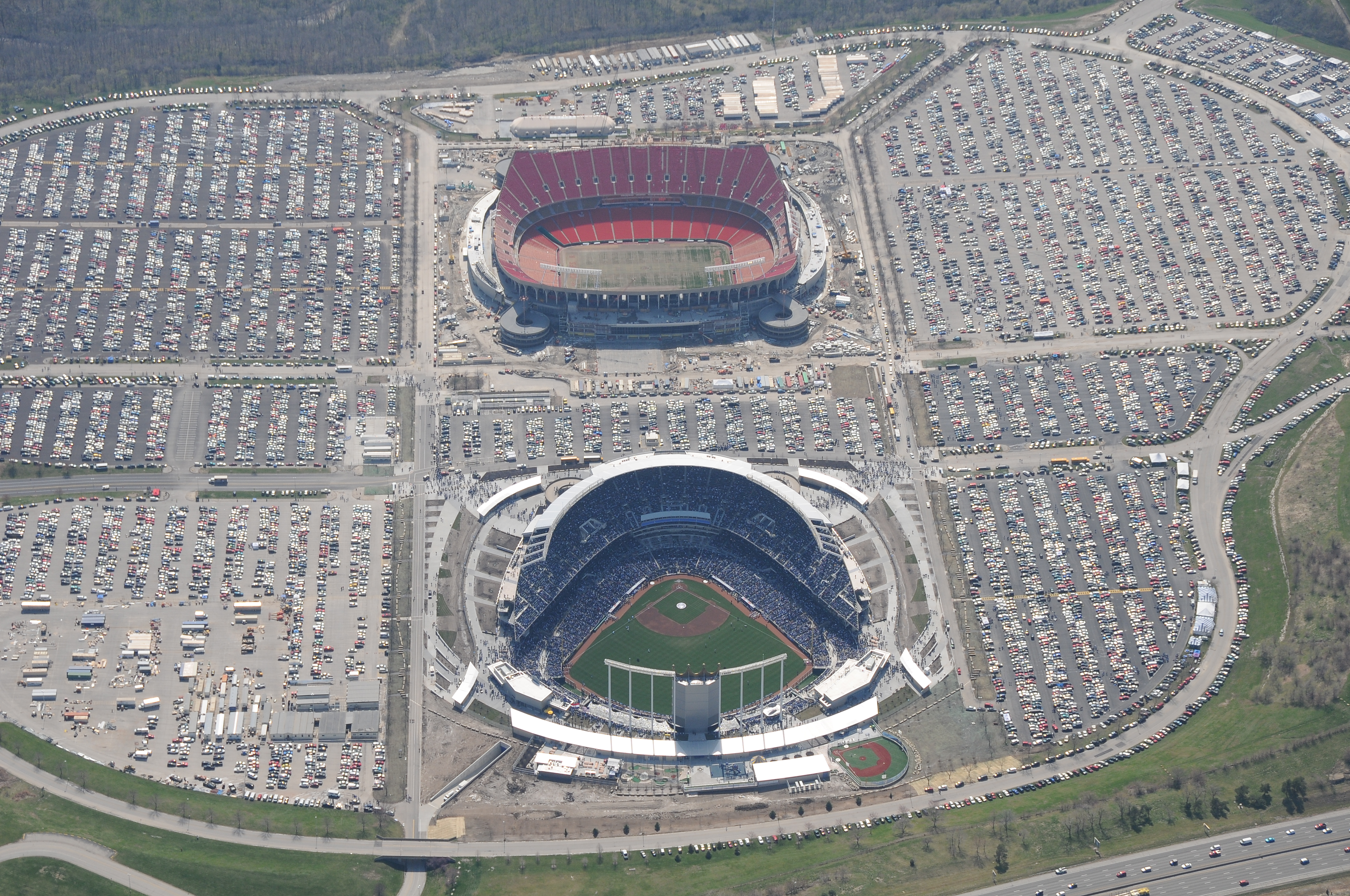Must See Aerial Views Of Every Major League Ballpark