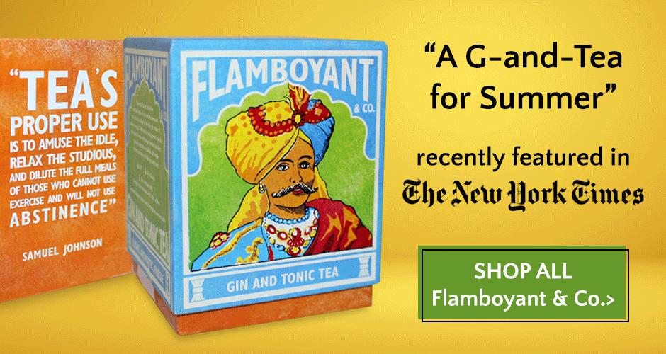 Flamboyant Co Gin & Tonic Tea
