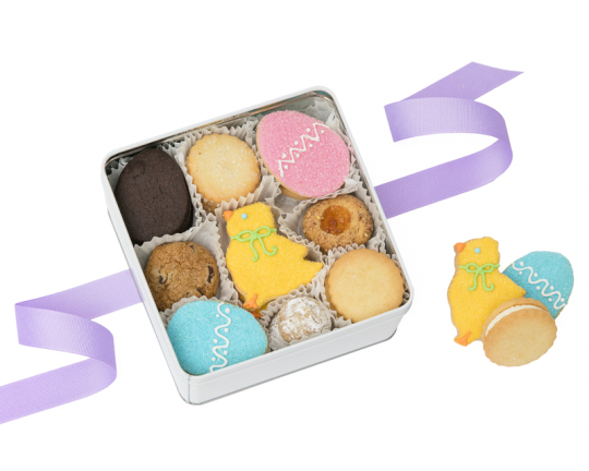 Easter Cookie Selection Tin