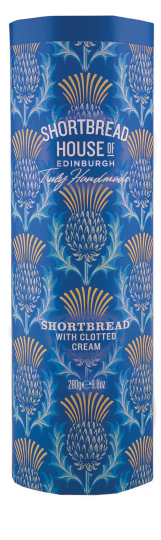 Shortbread House Tin with Clotted Cream 280g