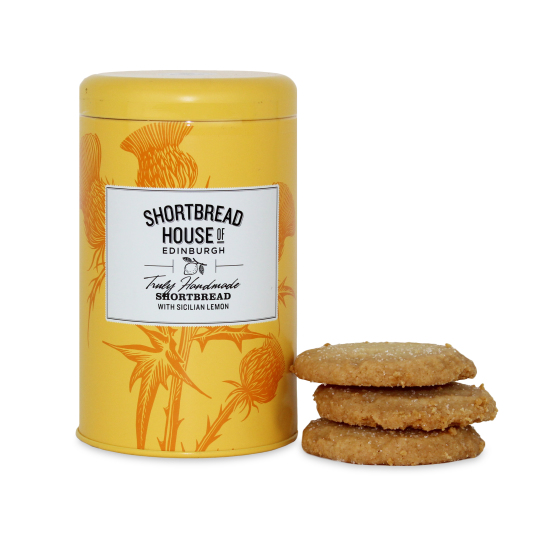 Shortbread House Sicilian Lemon Biscuit Tin 140g