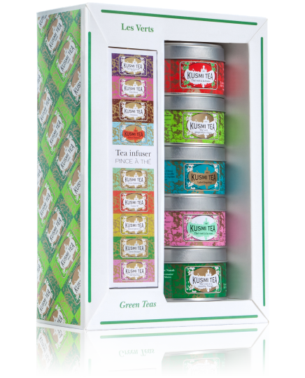 Kusmi Green Teas Box Set