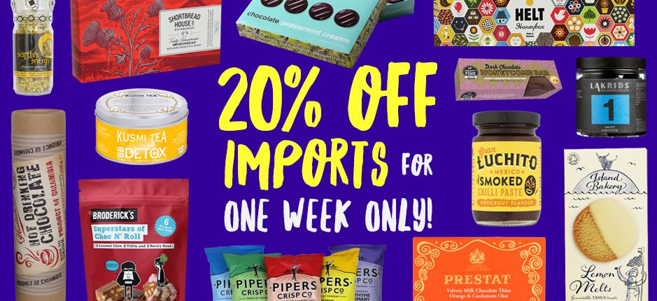 EOne Week Only! Import Sale