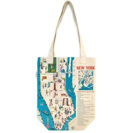 New York City Vintage Tote Bag