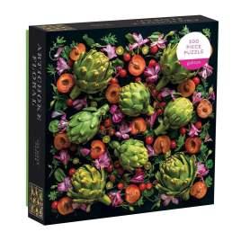 Artichoke Floral 500 Piece Jigsaw Puzzle