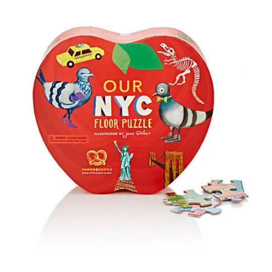 New york themed gifts nyc floor puzzle for Gifts for new yorkers