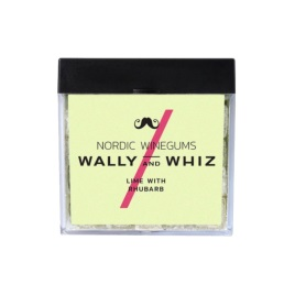 Wally and Whiz Licorice with Lime & Rhubarb 140g