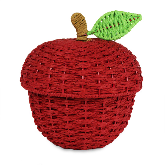 Woven Apple Basket