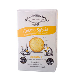 The Pea Green Boat Cheese Sables Original