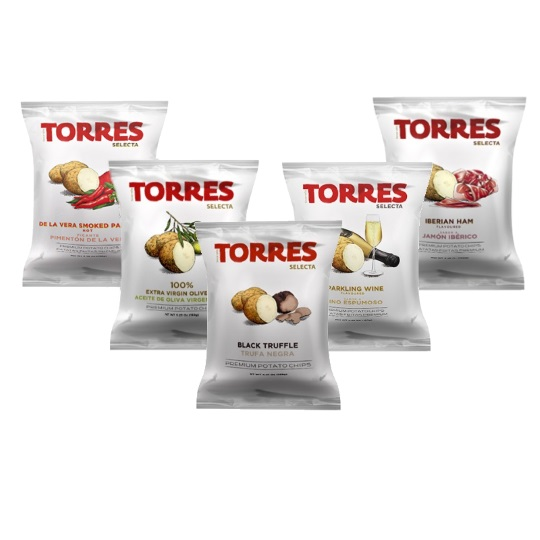 Torres Chips Mini Chip Assortment Pack (5-Pack)