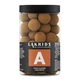 Lakrids A - Chocolate Coated Licorice 250g
