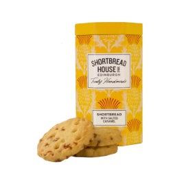 Shortbread House Tin With Salted Caramel 140g