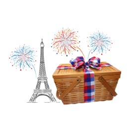 Custom Bastille Day Gift