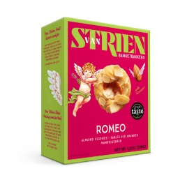 Van Strien Romeo- Caramel & Almond Cookies 120g
