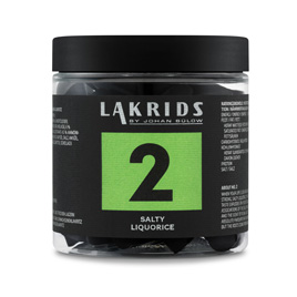 Lakrids No 2 Salty Licorice 170g