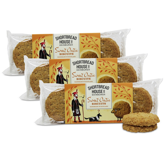 Shortbread House Oaties Cello (3-pack)