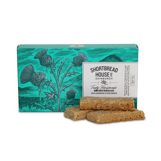 Shortbread House Stem Ginger Box 170g