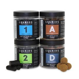Lakrids Variety Pack- No 1, No 2, A & D