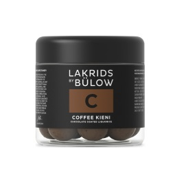 Lakrids C - Coffee Kieni Chocolate Coated Licorice 125g