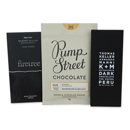 Dark Chocolate Bar Assortment (3 Bars)