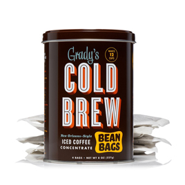 Grady's Cold Brew Bean Bags Tin