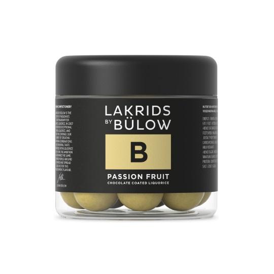 Lakrids B - Passion Fruit Chocolate Coated Licorice 125g