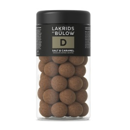 Lakrids D- Salt & Caramel Chocolate Coated Licorice 250g