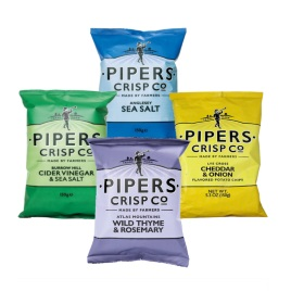 Pipers Crisps Assortment Pack 5.3oz  (5-Pack)