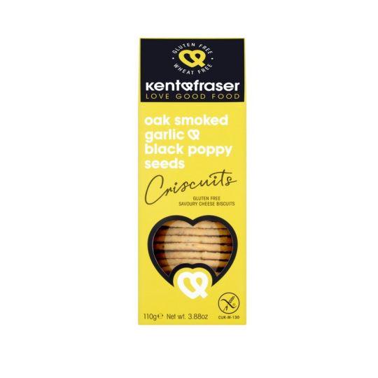 Kent & Fraser Oak-Smoked Garlic Criscuits