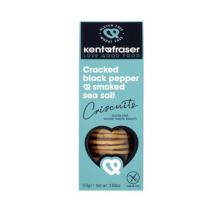 Kent & Fraser Cracked Black Pepper & Smoked Sea Salt Criscuits