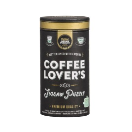 Coffee Lover's 500-Piece Jigsaw Puzzle
