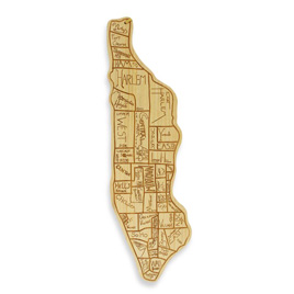 Manhattan Cutting Board