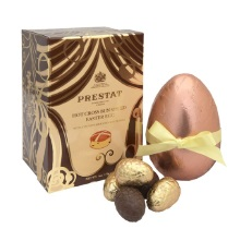 Prestat Hot Cross Bun Spiced Easter Egg 170g