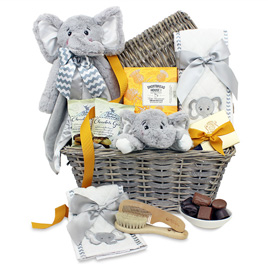 Buy baby gifts nyc my little peanut baby basket negle Image collections